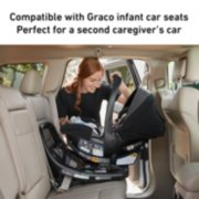 compatible with graco infant car seats perfect for a second caregiver's car image number 1