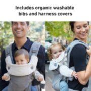 cradle me baby carrier organic bibs and harness covers image number 6