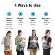 Cradle Me™ 4-in-1 Baby Carrier image number 3