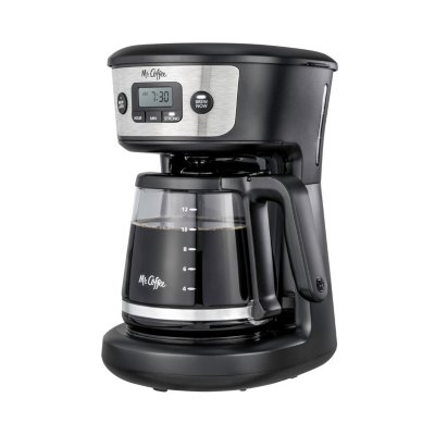 Mr. Coffee® 12-Cup Programmable Coffeemaker with Strong Brew Selector