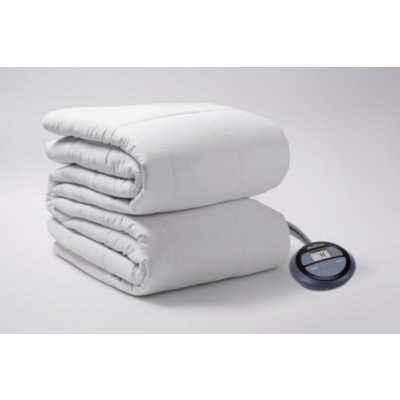 Cotton Top Premium Quilted Heated Mattress Pad with Digital Display Controller