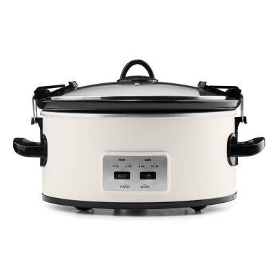 Crockpot™ 6-Quart Cook & Carry™ Slow Cooker, Manual, Silver