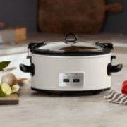 Crockpot™ 6-Quart Cook & Carry™ Slow Cooker, Manual, Silver image number 1