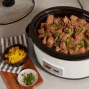 Crockpot™ 6-Quart Cook & Carry™ Slow Cooker, Manual, Silver image number 3