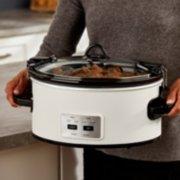 Crockpot™ 6-Quart Cook & Carry™ Slow Cooker, Manual, Silver image number 4