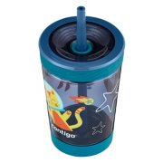 kids water bottle with straw image number 1