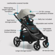 city select® 2 stroller, eco collection image number 5