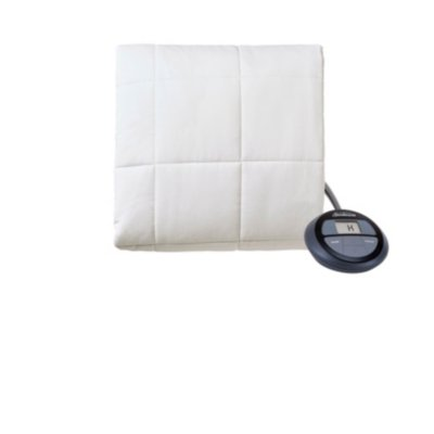 Sunbeam® Cotton Top Premium Quilted Heated Mattress Pad with Digital Display Controller