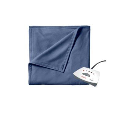 Sunbeam® Fleece Heated Blanket with Push Button Controller