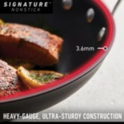 Calphalon Signature™ Hard-Anodized Nonstick 12-Inch Round Grill Pan image number 2