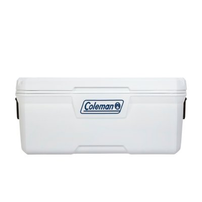 120 Qt, Chest Cooler, 5-Day Ice Retention, 2-Way Handle, Marine