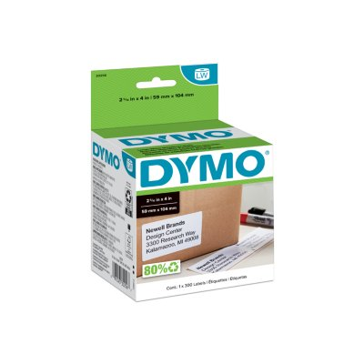 DYMO LabelWriter Large Shipping Labels, 1 Roll of 300