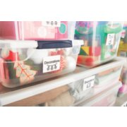 home containers organized with labels image number 3