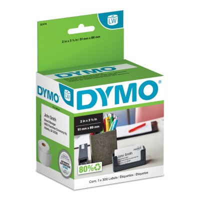 DYMO LabelWriter Non-Adhesive Business Card Labels