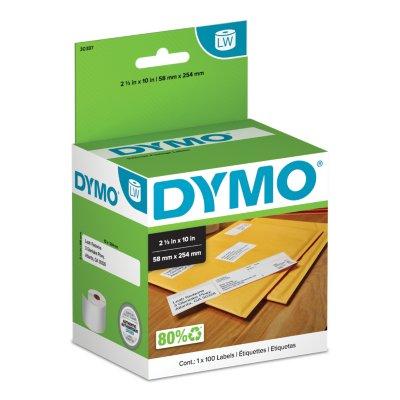 DYMO LabelWriter Internet Postage Confirmation Labels