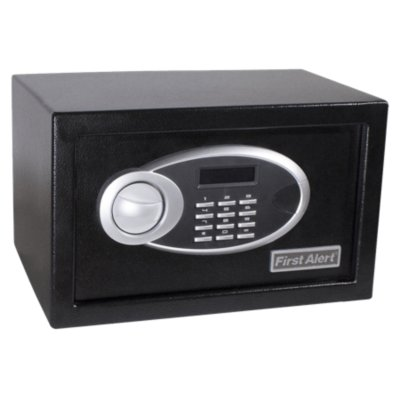 Steel Digital Anti-Theft Safe, 0.31 Cubic Feet