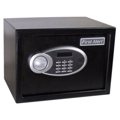Steel Digital Anti-Theft Safe, 0.57 Cubic Feet