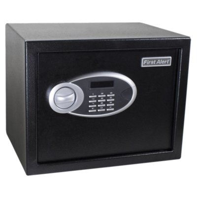Steel Digital Anti-Theft Safe, 0.94 Cubic Feet