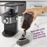 Mr. Coffee® Cafe Grind 18 Cup Automatic Burr Grinder, Stainless Steel image number 5