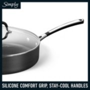 Simply Calphalon Hard-Anodized Nonstick 10-Piece Cookware Set image number 4