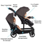 UNO2DUO™ Double Stroller image number 5