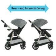 Modes Pramette stroller in 2 configurations image number 2