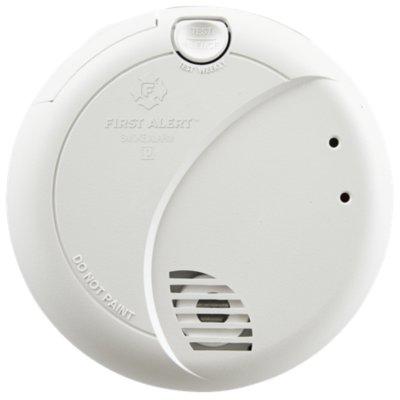 Hardwired Photoelectric Smoke Alarm with Battery Backup