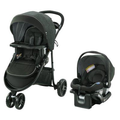 Modes™ 3 Lite DLX Travel System with SnugRide® 35 Lite LX Infant Car Seat