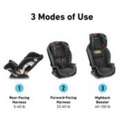 Milestone™ 3-in-1 Car Seat image number 1