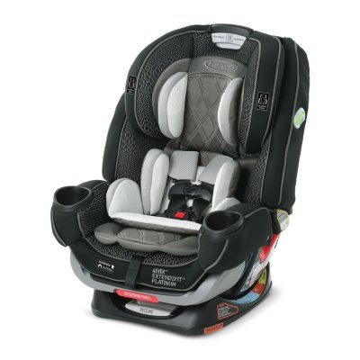 4Ever® Extend2Fit® Platinum Convertible Car Seat 4-in-1 Car Seat
