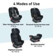 4Ever® Extend2Fit® Platinum Convertible Car Seat 4-in-1 Car Seat image number 1