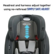 Nautilus® SnugLock® LX 3-in-1 Harness Booster image number 3
