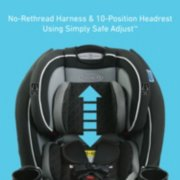 TrioGrow™ SnugLock® LX 3-in-1 Car Seat image number 4