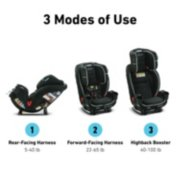 TrioGrow™ SnugLock® LX 3-in-1 Car Seat featuring Safety Surround™ Advanced Side-Impact Protection image number 1