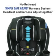 TrioGrow™ SnugLock® LX 3-in-1 Car Seat featuring Safety Surround™ Advanced Side-Impact Protection image number 4