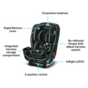 TrioGrow™ SnugLock® LX 3-in-1 Car Seat featuring Safety Surround™ Advanced Side-Impact Protection image number 5