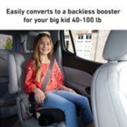 Turbo booster car seat image number 4