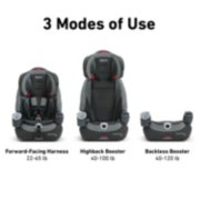 Nautilus® 65 LX 3-in-1 Harness Booster Car Seat image number 1