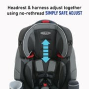 Nautilus® 65 LX 3-in-1 Harness Booster Car Seat image number 2