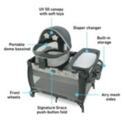 Pack 'n Play® Travel Dome™ LX  Playard image number 5