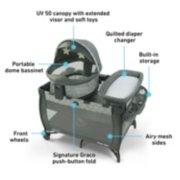 Pack 'n Play® Travel Dome™ DLX Playard image number 5
