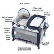 Pack 'n Play® Quick Connect™ Portable Bassinet Playard image number 5
