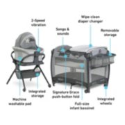 Pack 'n Play® Day2Dream™ Bassinet Deluxe Playard image number 5
