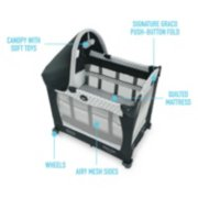 Travel Lite® Crib with Stages image number 6