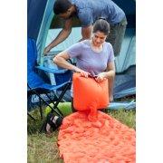 air pack inflatable camp pad setup at camp site image number 4