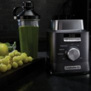 Calphalon Auto-Speed 2-Liter Blender with Blend-N-Go Smoothie Cup, Dark Stainless Steel image number 6