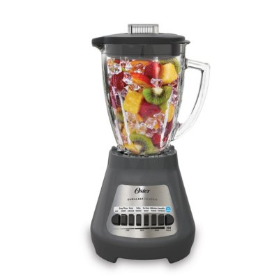 Oster® Classic Series 8-Speed Blender with 6-Cup Glass Jar, Gray