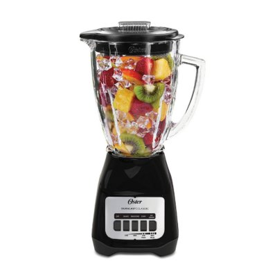Oster® Easy-to-Use Blender with 5-Speeds and 6-Cup Glass Jar, Black