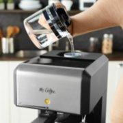 Mr. Coffee®  Café 20-Ounce Steam Automatic Espresso and Cappuccino Machine, Silver image number 4