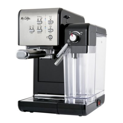 Mr. Coffee® One-Touch CoffeeHouse Espresso and Cappuccino Machine